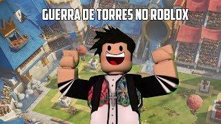 BATALHA DE TORRE NO ROBLOX!!!? (Tower Battles Halloween)