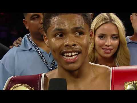 POST-FIGHT | Shakur Stevenson
