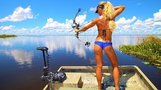 Airboat Freshwater Bowfishing & Bass fishing in Central Florida