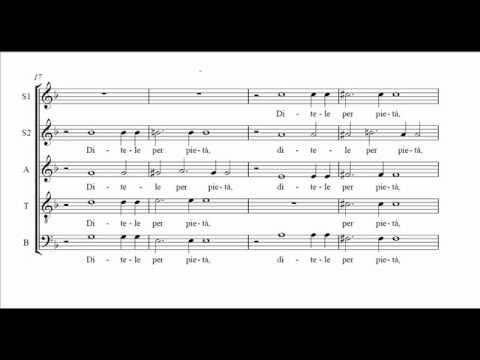 Carlo Gesualdo - Itene o miei sospiri