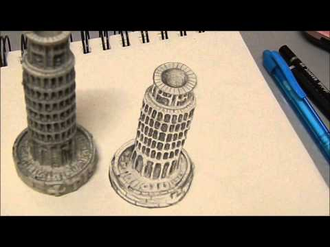 3D anamorphic drawing- Tutorial
