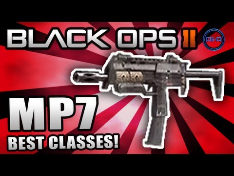 "Black Ops 2 ""MP7"" - Best Class Setup (Nuclear Class) - Map Pack Multiplayer Gameplay"