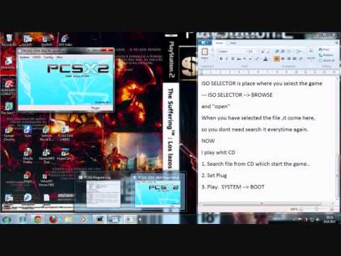 How to play PS2 games on PC with PS2 Emulator. How PCSX2 0.9.8 works. download bios and plugins