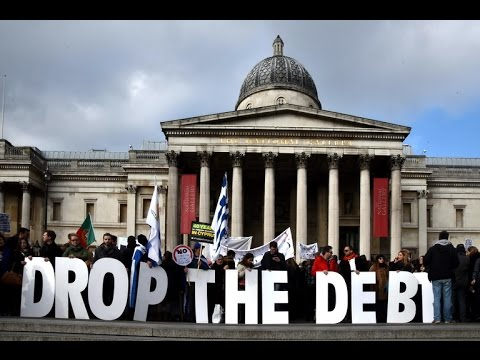Greece protest in London