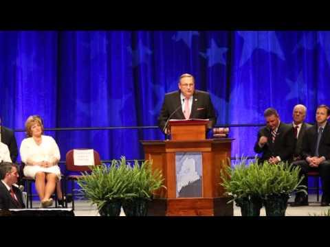 Gov. Paul LePage's inauguration speech