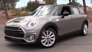 2016 Mini Cooper S Clubman (F54) - Start Up, Test Drive & In Depth Review