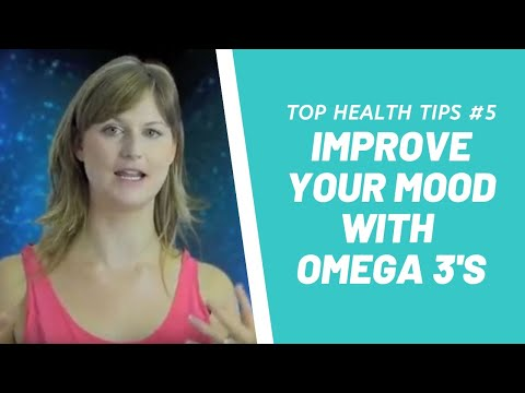 Improve Your Mood With Omega 3's