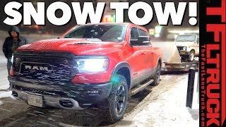 2019 Ram Rebel MPG Redemption? With a Trailer and Through the Snow