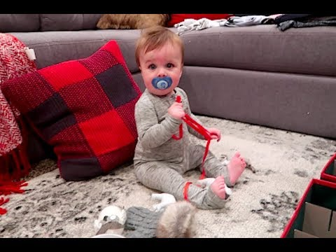 BABYS FIRST TREE- Vlogmas day 2!