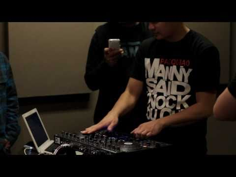 Scratch session trying out the Traktor S4 with Happee, Bakspin, Rayted R, Philly, Dynamix, Clenz Roc