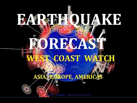 4/04/2016 -- Earthquake Forecast -- West Coast USA to Asia -- Volcanic + Seismic Unrest