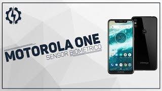 Motorola One - Sensor Biométrico
