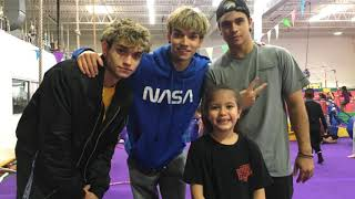 I met the DOBRE BROTHER'S!!!!! So much fun!!! I love them ❤