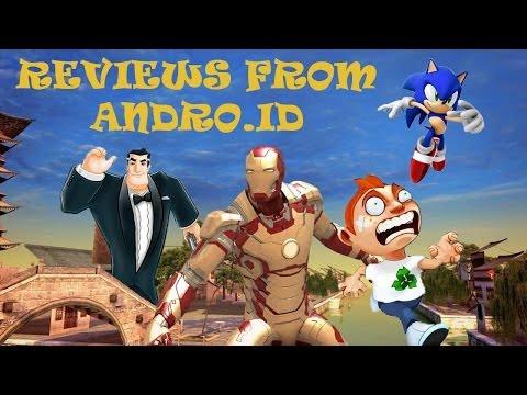Best Android Runners №1 Sonic Dash, Running Fred, Агент Даш, Железный человек 3