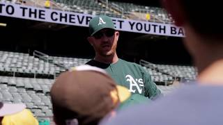 AG Fitness & Oakland A's baseball camp