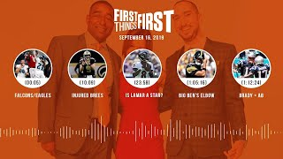First Things First Audio podcast (9.16.19)Cris Carter, Nick Wright, Jenna Wolfe | FIRST THINGS FIRST