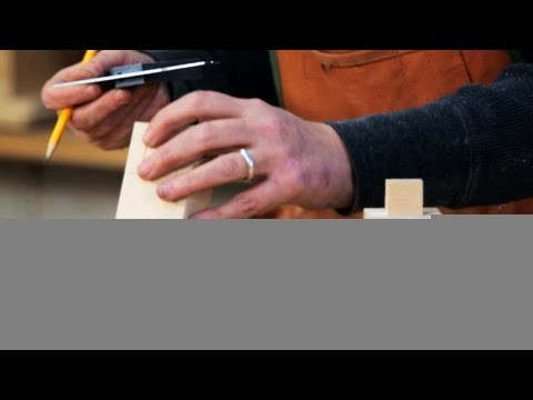 Woodworking: How to Make Mortise and Tenon Joints, Part 1