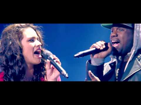 Hanne en Demi zingen 'Locked Away' met R-City | K3 zoekt K3 | SBS6