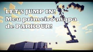 Meu novo Mapa de parkour para minecraft 1.4.7