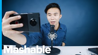 ASMR Unboxing Red's Holographic Hydrogen One Phone ? ASMR Unboxing