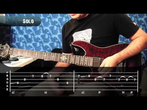 Lamento Boliviano Enanitos Verdes Guitarra Como tocar Solo Tutorial