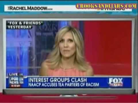 Rachel Maddow Whacks Fox News for Their Massive Flip-Flop on the Sherrod Firing Incident #1