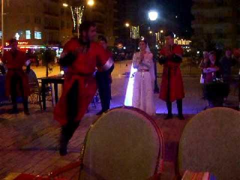 Sunny Restaurant , Mahmutlar,Turkish Dancers