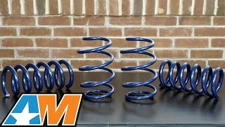 Review: SR Performance Lowering Springs (2015 Mustang GT, V6 & EcoBoost)