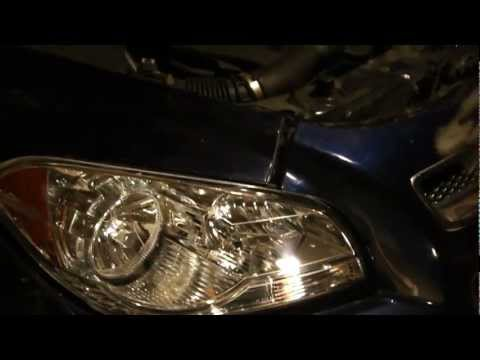 HOW TO REPLACE HEADLAMP OR HEADLIGHTS ON 2008.2009.2010  2011 AND 2012 CHEVY MALIBU