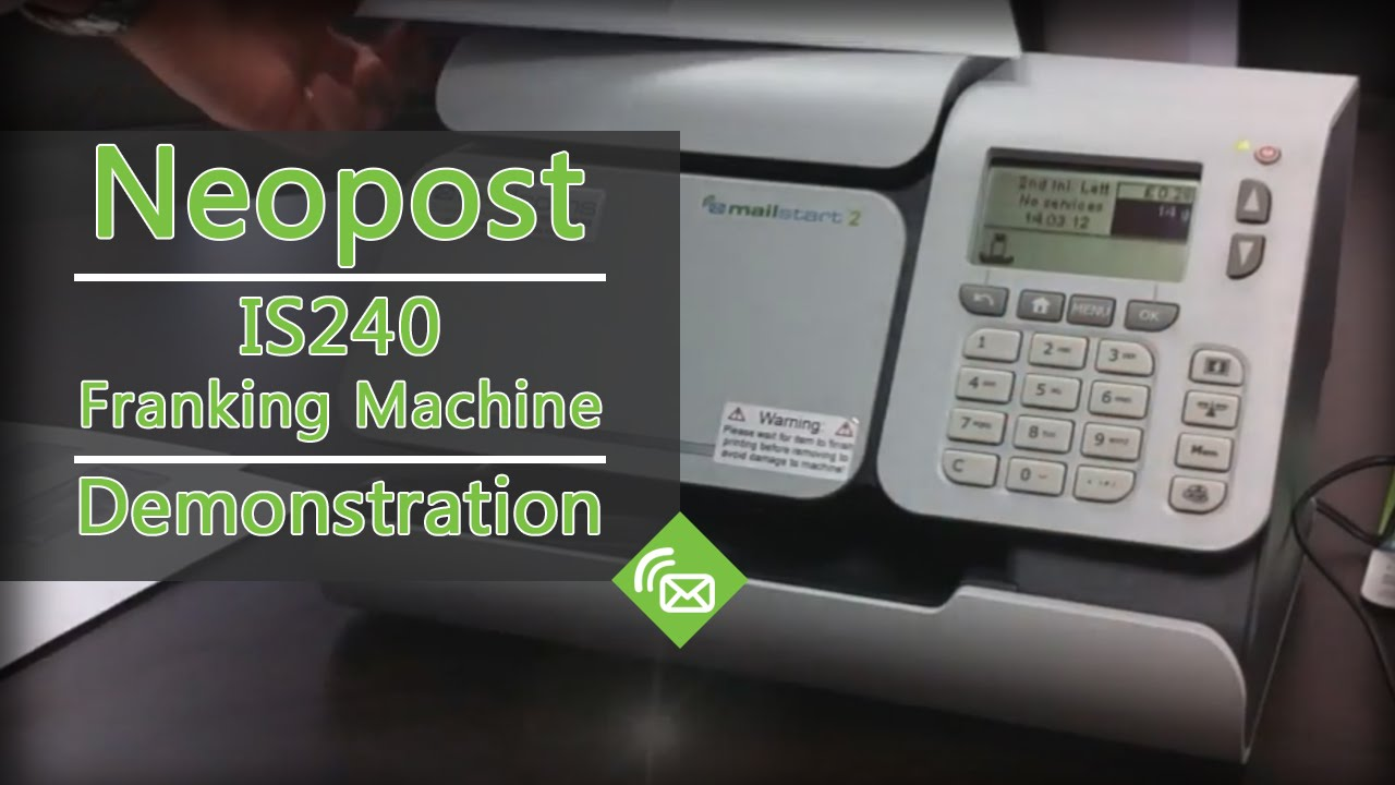 Is-330 franking machine neopost