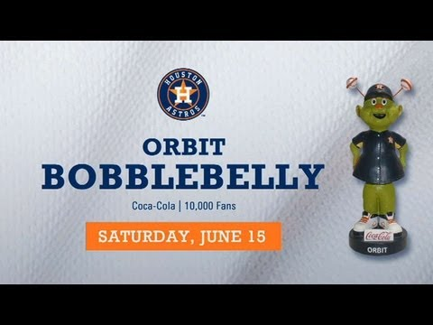Astros set to host Orbit Bobblebelly giveaway June 15