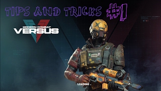 Modern Combat Versus TIPS AND TRICKS #1 (MCV)
