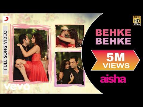 Aisha - Behke Behke Video | Sonam Kapoor, Abhay Deol