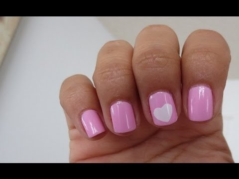 Easy ♥  nail tutorial!