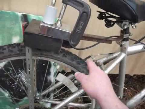 Amateur Radio Bicycle Mobile setup