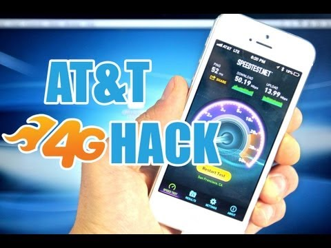 How To Boost AT&T 4G LTE Speeds On iPhone 5 & iPad 4/3/Mini Hack- NO Jailbreak Required!