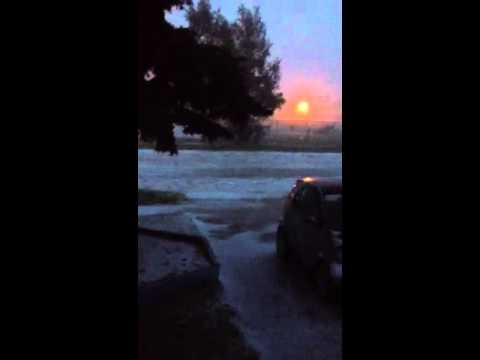 July05/13 Hail Storm in Taber, AB