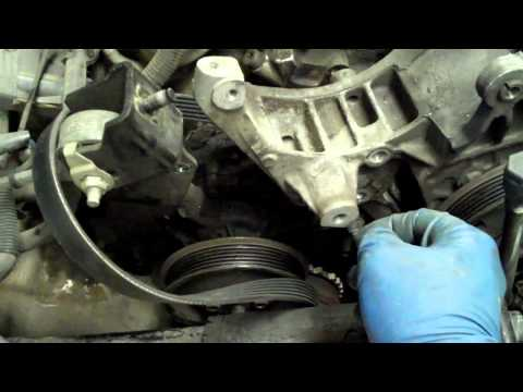 How to change a sexy beast power steering pump on a Ford Taurus