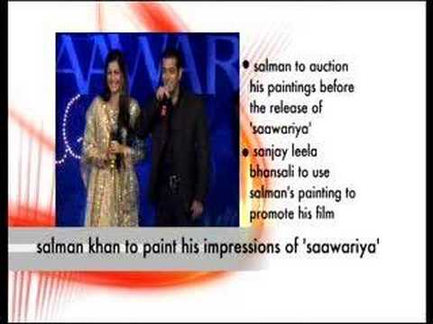 Salman Khan to paint his impression of Saawariya