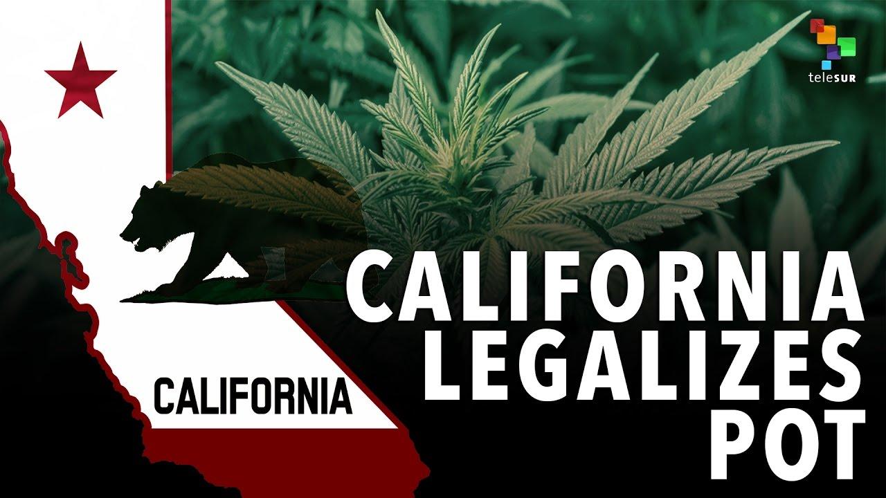 Recreational Marijuana Approved in California
