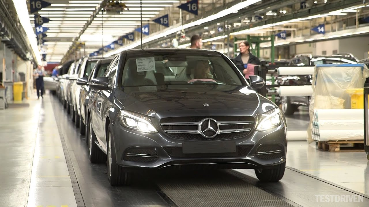 2014 Mercedes Benz C Class Production YouTube