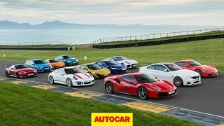 The Best Sports Cars Tested   Britain's Best Driver's Car 2016   The Grand Finale