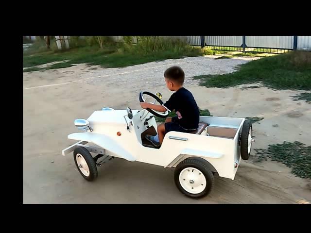 Детский электромобиль 12 в своими руками 24