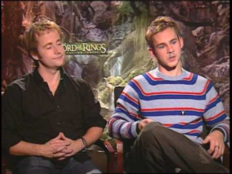 'Lord Of The Rings 2' Peter Jackson And Sean Astin