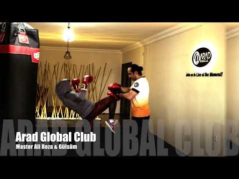 Punch Mitts Workout, Lapa Antremanı, Master Ali Reza & Gülsüm:Arad Global Club, Eskişehir Kick Boks