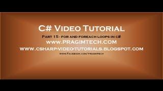 c# tutorial for beginners