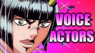 JoJo's Bizarre Adventure Part 5: Golden Wind - Voice Actors in Other Anime