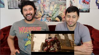 AVENGERS: AGE OF ULTRON TRAILER REACTION & REVIEW!!!