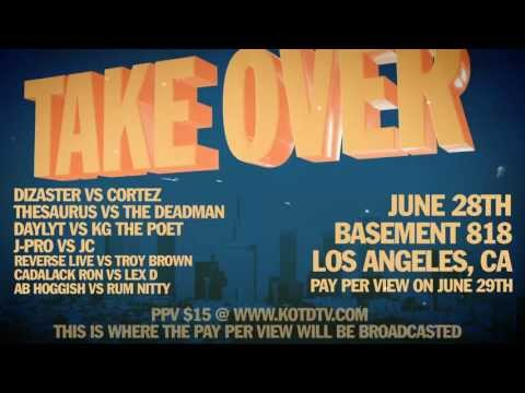 KOTD - #TAKEOVER - OFFICIAL VIDEO FLYER