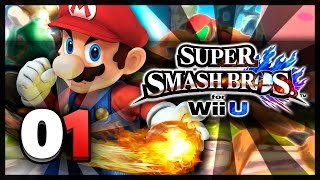 Super Smash Bros Wii U - Classic Mode w/ Mario & Kirby Co-op (HD)